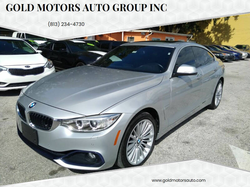2016 BMW 4 Series for sale at Gold Motors Auto Group Inc in Tampa FL