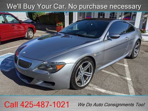 2007 BMW M6 for sale at Platinum Autos in Woodinville WA