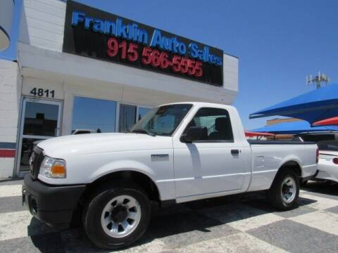 2011 Ford Ranger for sale at Franklin Auto Sales in El Paso TX