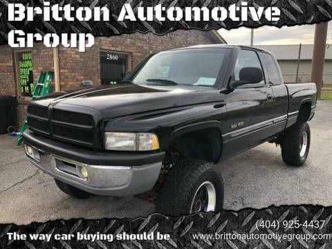 1999 Dodge Ram Pickup 1500 for sale at Britton Automotive Group in Loganville GA