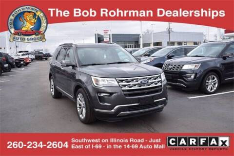 2019 Ford Explorer for sale at BOB ROHRMAN FORT WAYNE TOYOTA in Fort Wayne IN