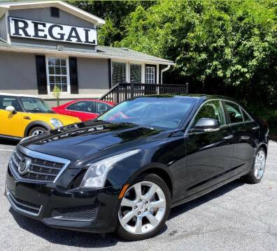 2013 Cadillac ATS for sale at Regal Auto Sales in Marietta GA