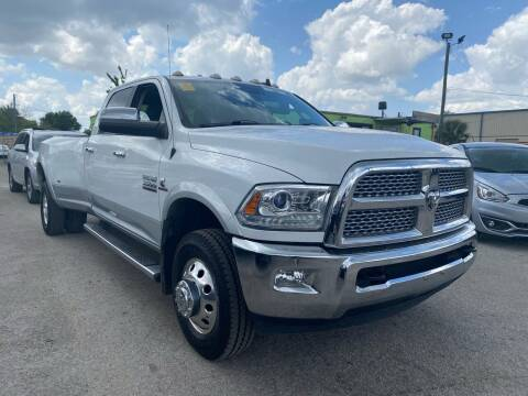 2015 RAM Ram Pickup 3500 for sale at Marvin Motors in Kissimmee FL