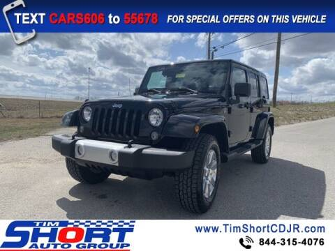 2014 Jeep Wrangler Unlimited for sale at Tim Short Chrysler in Morehead KY