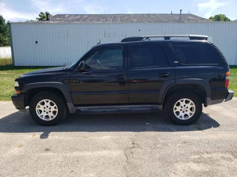 2005 Chevrolet Tahoe for sale at Steve Winnie Auto Sales in Edmore MI