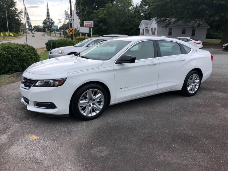 2018 Chevrolet Impala for sale at Dorsey Auto Sales in Anderson SC