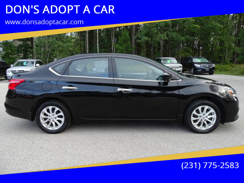 2019 Nissan Sentra for sale at DON'S ADOPT A CAR in Cadillac MI