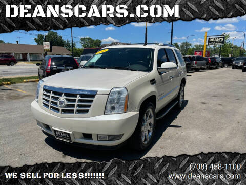 2008 Cadillac Escalade for sale at DEANSCARS.COM in Bridgeview IL
