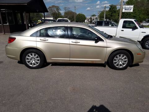2010 Chrysler Sebring for sale at Riverview Auto's, LLC in Manchester OH