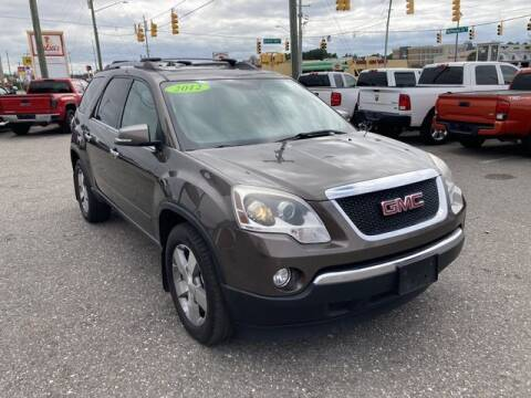 2012 GMC Acadia for sale at Sell Your Car Today in Fayetteville NC