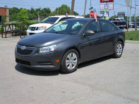 2013 Chevrolet Cruze for sale at A & A IMPORTS OF TN in Madison TN