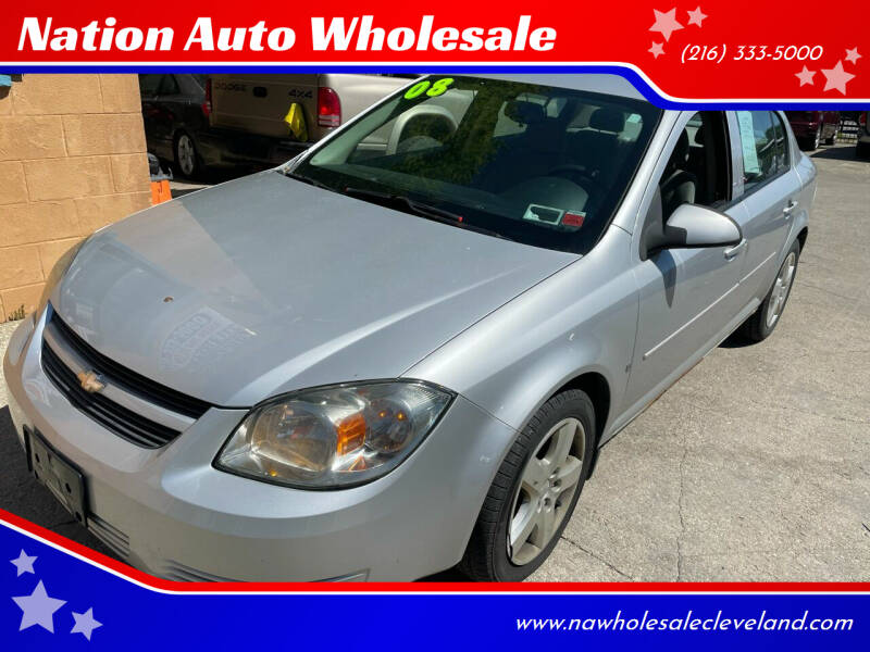 2008 Chevrolet Cobalt for sale at Nation Auto Wholesale in Cleveland OH