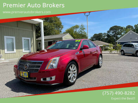 2008 Cadillac CTS for sale at Premier Auto Brokers in Virginia Beach VA