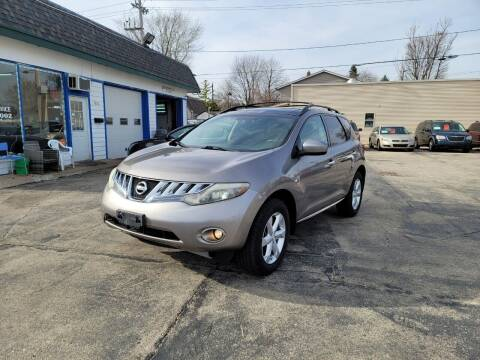 2010 Nissan Murano for sale at MOE MOTORS LLC in South Milwaukee WI