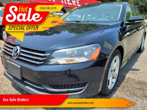 2012 Volkswagen Passat for sale at Ace Auto Brokers in Charlotte NC