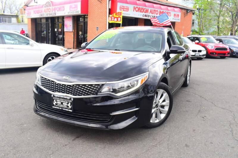 2018 Kia Optima for sale at Foreign Auto Imports in Irvington NJ