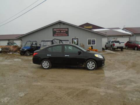 2012 Nissan Versa for sale at PREFERRED AUTO SALES in Lockridge IA