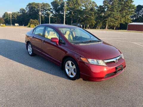 2008 Honda Civic for sale at Carprime Outlet LLC in Angier NC
