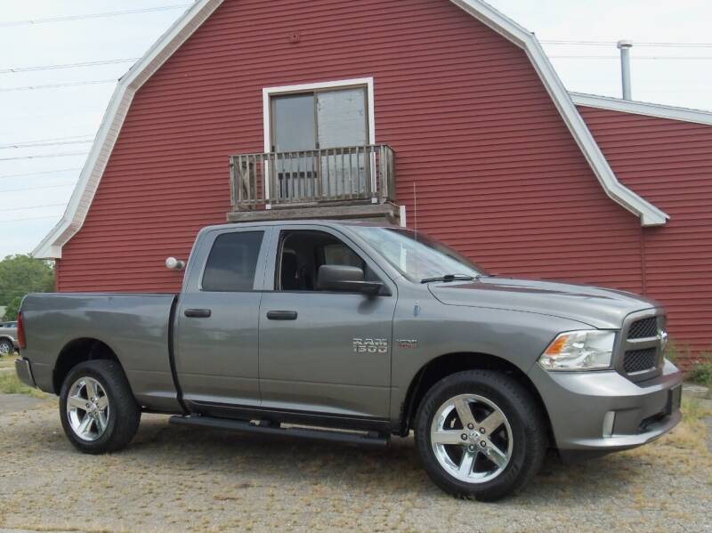 2013 RAM Ram Pickup 1500 for sale at Red Barn Motors, Inc. in Ludlow MA