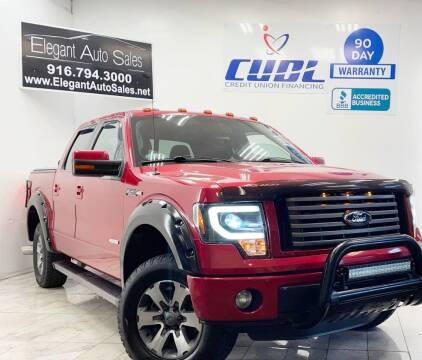 2012 Ford F-150 for sale at Elegant Auto Sales in Rancho Cordova CA