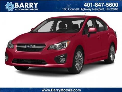 2014 Subaru Impreza for sale at BARRYS Auto Group Inc in Newport RI