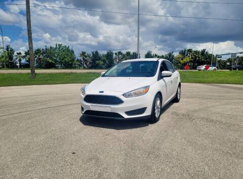 2017 Ford Focus for sale at FLORIDA USED CARS INC in Fort Myers FL
