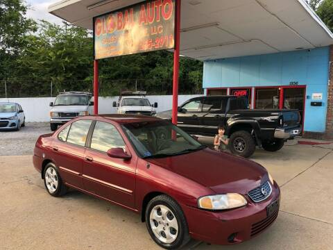 2003 Nissan Sentra for sale at Global Auto Sales and Service in Nashville TN