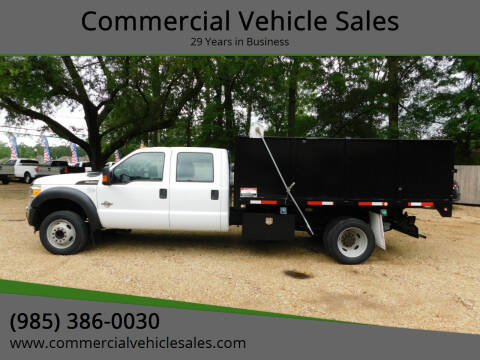 2014 Ford F-450 Super Duty for sale at Commercial Vehicle Sales in Ponchatoula LA