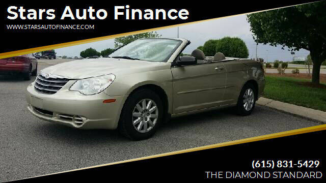 2008 Chrysler Sebring for sale at Stars Auto Finance in Nashville TN