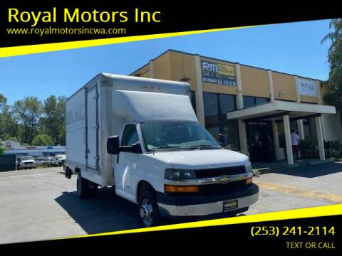 2013 Chevrolet Express Cutaway for sale at Royal Motors Inc in Kent WA