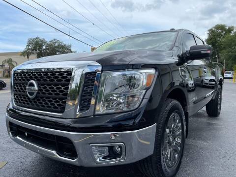 2017 Nissan Titan for sale at RoMicco Cars and Trucks in Tampa FL