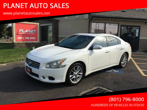 2010 Nissan Maxima for sale at PLANET AUTO SALES in Lindon UT
