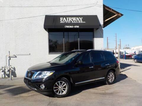 2014 Nissan Pathfinder for sale at FAIRWAY AUTO SALES, INC. in Melrose Park IL