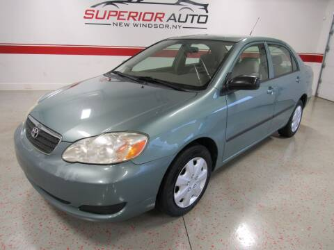 2007 Toyota Corolla for sale at Superior Auto Sales in New Windsor NY