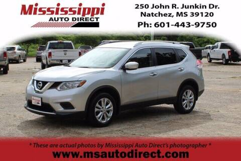 2015 Nissan Rogue for sale at Auto Group South - Mississippi Auto Direct in Natchez MS
