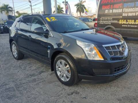 2012 Cadillac SRX for sale at Brascar Auto Sales in Pompano Beach FL