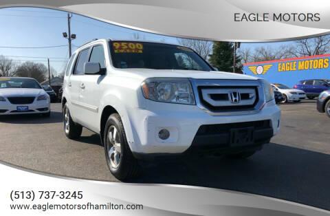 2009 Honda Pilot for sale at Eagle Motors in Hamilton OH