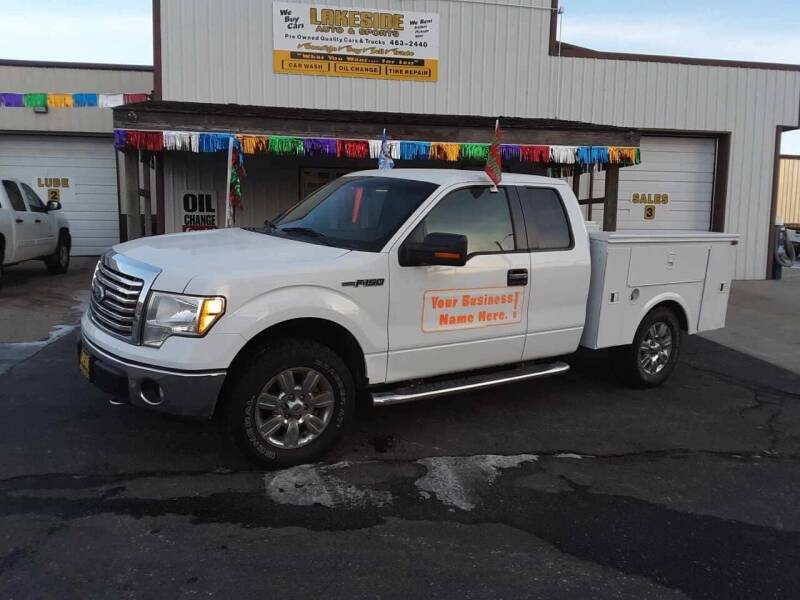 2011 Ford F-150 for sale at Lakeside Auto & Sports in Garrison ND
