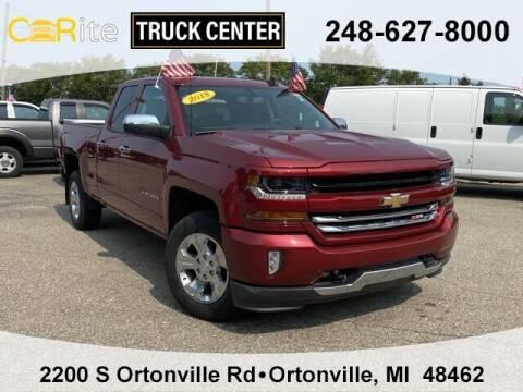2018 Chevrolet Silverado 1500 for sale at Carite Truck Center in Ortonville MI