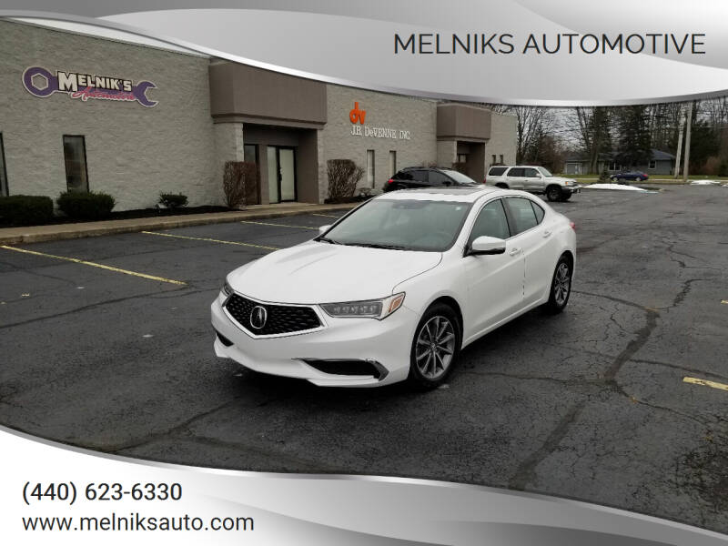 2020 Acura TLX for sale at Melniks Automotive in Berea OH
