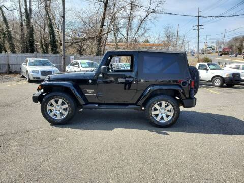 2012 Jeep Wrangler for sale at CANDOR INC in Toms River NJ
