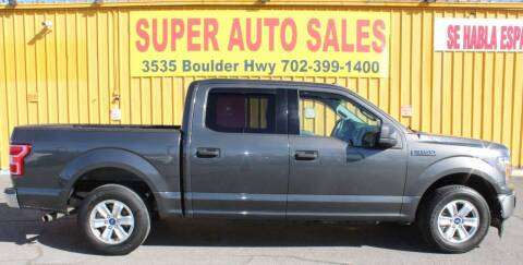 2018 Ford F-150 for sale at Super Auto Sales in Las Vegas NV