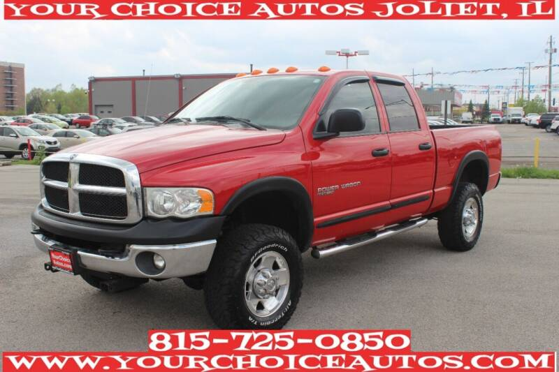 2005 Dodge Ram Pickup 2500 for sale at Your Choice Autos - Joliet in Joliet IL
