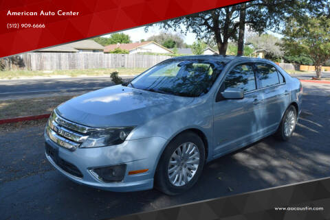 2011 Ford Fusion Hybrid for sale at American Auto Center in Austin TX