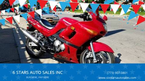 2002 Kawasaki Ninja ZX-6R for sale at 6 STARS AUTO SALES INC in Chicago IL