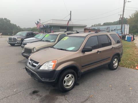 2004 Honda CR-V for sale at Wheel'n & Deal'n in Lenoir NC