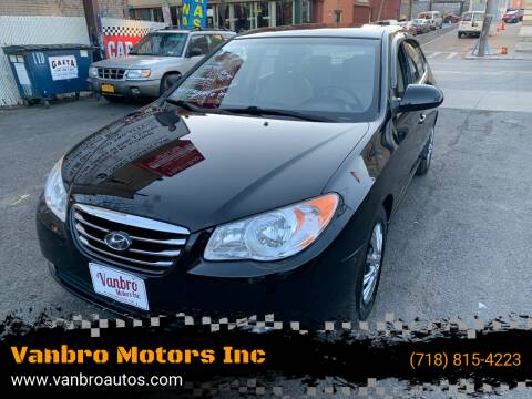 2010 Hyundai Elantra for sale at Vanbro Motors Inc in Staten Island NY