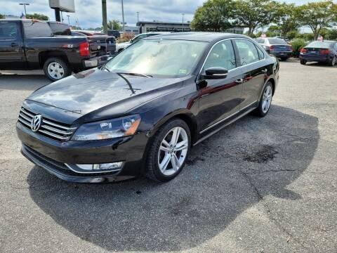 2015 Volkswagen Passat for sale at International Auto Wholesalers in Virginia Beach VA