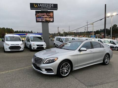 2015 Mercedes-Benz S-Class for sale at Lakeside Auto in Lynnwood WA