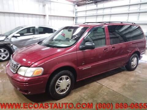 2002 Chevrolet Venture for sale at East Coast Auto Source Inc. in Bedford VA